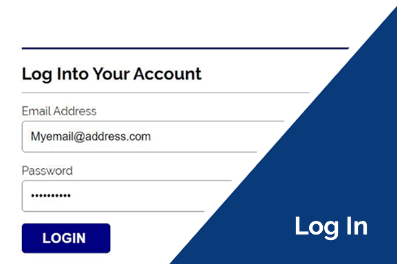log-in form